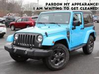 This outstanding example of a 2017 Jeep Wrangler Willys