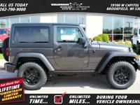 Options:  2017 Jeep Wrangler Willys Wheeler|*Shown