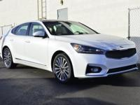 Snow White Pearl 2017 Kia Cadenza Premium FWD 8-Speed