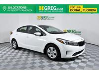 Clean CARFAX. Recent Arrival! This 2017 Kia Forte LX in