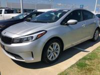 Gray 2017 Kia Forte LX FWD 6-Speed Automatic 2.0L I4