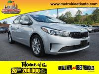 This 2017 Kia Forte LX is a real winner with features