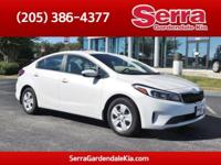 New Price! Snow White Pearl 2017 Kia Forte LX FWD