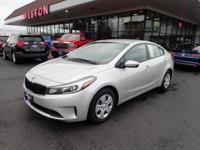 Get ready to go for a ride in this 2017 Kia Forte LX,