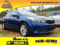 This 2017 Kia Forte LX boasts features like a braking