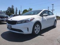 This WHITE 2017 Kia Forte LX might be just the sedan