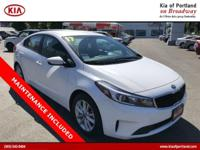 Come see this 2017 Kia Forte LX. Its Automatic