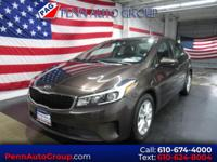CARFAX One-Owner. Clean CARFAX. Brown 2017 Kia Forte LX