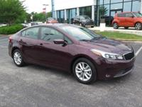 New Price! CARFAX One-Owner. Clean CARFAX. Garnet Red