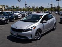 This 2017 Kia Forte LX, has a great Silky Silver