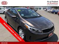 Check out this 2017 Kia Forte LX. Its Automatic