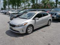 Look no further this 2017 KIA Forte LX (A6) 4dr Sedan