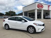 2017 Kia Forte LX 38/29 Highway/City MPG Come