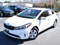2017 Kia Forte LX Snow White Pearl Priced below KBB