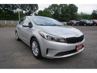 2017 Kia Forte LX Silver Bluetooth. Priced below KBB