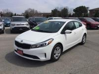 Recent Arrival! Certified. 2017 Kia Forte LX *FACTORY