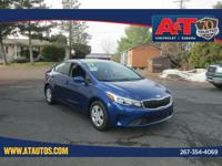 CARFAX One-Owner. Clean CARFAX. Deep Sea Blue 2017 Kia
