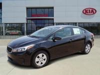 38/29 Highway/City MPG 2017 Kia Forte LX Price does not