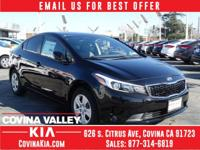 Kia FEVER! Call ASAP! New Arrival! This charming 2017