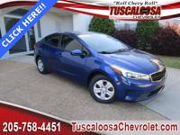 This 2017 Kia Forte LX in Deep Sea Blue features: 2.0L