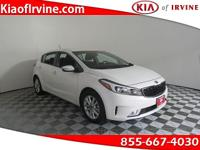 This .Snow White Pearl 2017 Kia Forte LX Plus is Kia