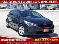CARFAX One-Owner. Clean CARFAX. Blue 2017 Kia Forte LX