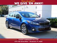 2017 Kia Forte SX 30/25 Highway/City MPG  Options: