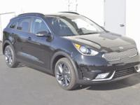 Black 2017 Kia Niro EX FWD 6-Speed Dual Clutch 1.6L I4