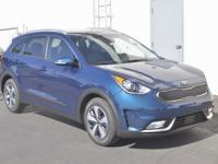 Blue 2017 Kia Niro EX FWD 6-Speed Dual Clutch 1.6L I4