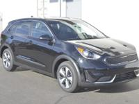Black 2017 Kia Niro FE FWD 6-Speed Dual Clutch 1.6L I4