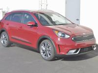Red 2017 Kia Niro Touring FWD 6-Speed Dual Clutch 1.6L