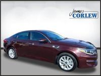 CARFAX One-Owner. Clean CARFAX. Sangria 2017 Kia Optima