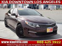 CARFAX One-Owner. Clean CARFAX. Burgundy 2017 Kia