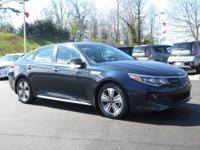 Blue 2017 Kia Optima Hybrid EX FWD Automatic 2.0L