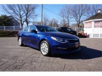 2017 Kia Optima LX Blue New Price! 4-Wheel Disc Brakes,