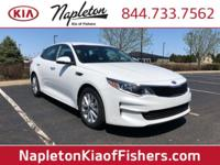 CARFAX One-Owner. Clean CARFAX. White LX FWD 6-Speed