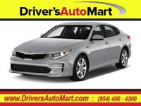 CARFAX One-Owner. Silver 2017 Kia Optima LX FWD 6-Speed