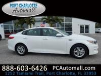 BRAND NEW CAR!! UNDER 20 MILES!  White 2017 Kia Optima