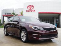 This outstanding example of a 2017 Kia Optima LX is
