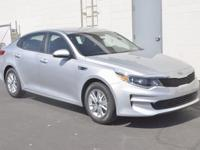 Silver 2017 Kia Optima LX FWD 6-Speed Automatic with
