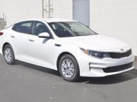 White 2017 Kia Optima LX FWD 6-Speed Automatic with