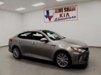 2017 Kia Optima SXL Leather. 31/22 Highway/City MPG