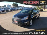This used Kia Rio LX is now for sale in San Antonio at