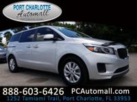 CARFAX One-Owner. Clean CARFAX. Bright Silver 2017 Kia