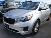 Bright Silver 2017 Kia Sedona LX FWD 6-Speed Automatic