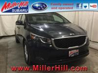 2017 Kia Sedona LX Mini Van 3.3L V6 ready to go! With