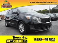 Don't miss out on this 2017 Kia Sedona LX! It comes