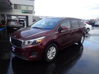 You'll love the look and feel of this 2017 Kia Sedona