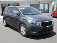 This 2017 Kia Sedona LX in Blue features: Awards: *
