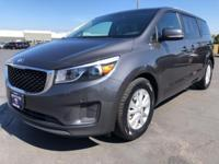 2017 Kia Sedona LX Gray Fresh Oil Change, No Accident